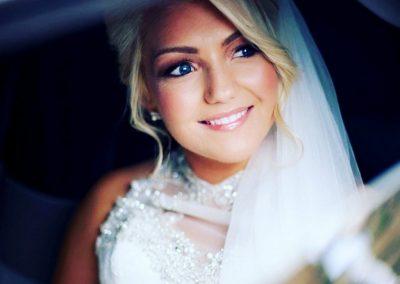 Bridal make up by Rebecca Suarez