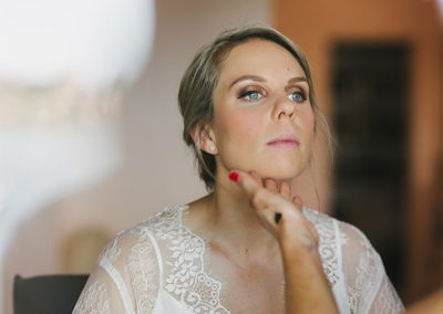 Bridal make up by Rebecca Suarez